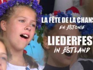 Lieder- und Tanzfest in Estland