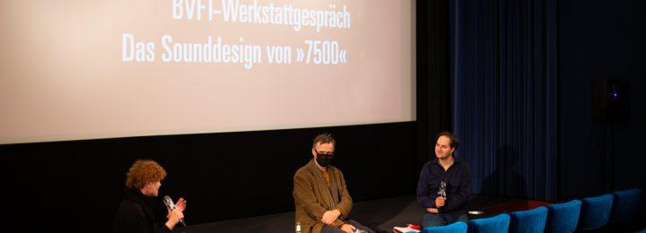 """""""7500"""" beim Tonpanel der bvft am 26. Oktober im Off-Broadway Kino, Köln"""